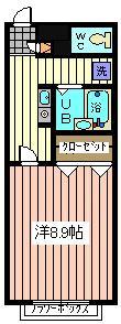 ☆広々8.9帖☆