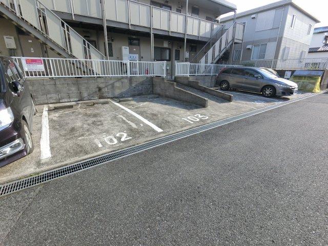 【駐車場】シティハイムみさと