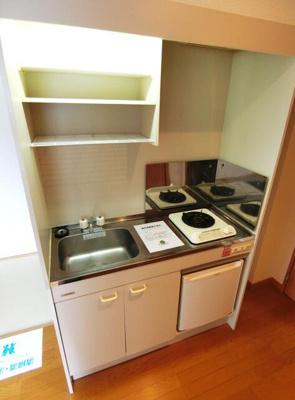 【キッチン】ウイングヴィレッジ目黒