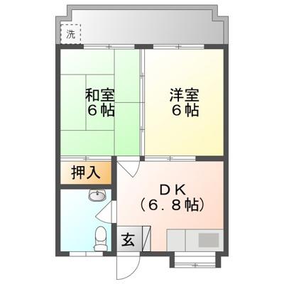 【外観】丸真アパートB棟