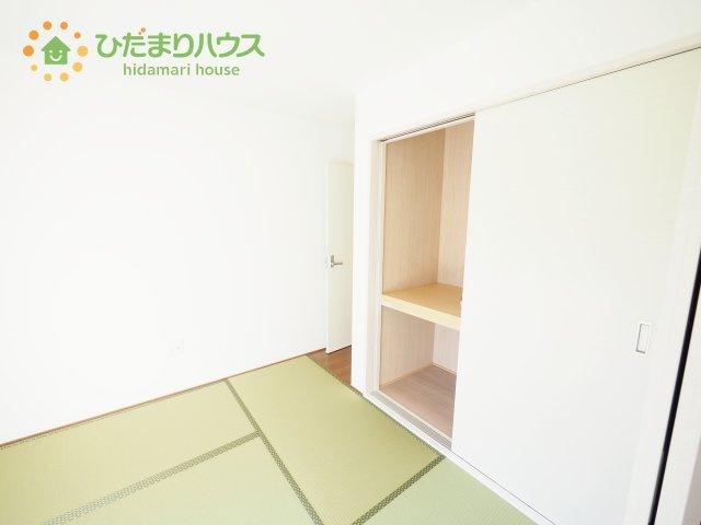 5畳の和室は小さなお子様のお世話に大活躍♪