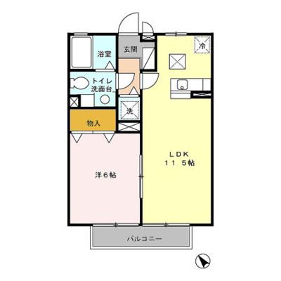 【区画図】マミーパレス