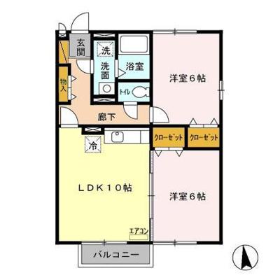 【区画図】ルミエールW