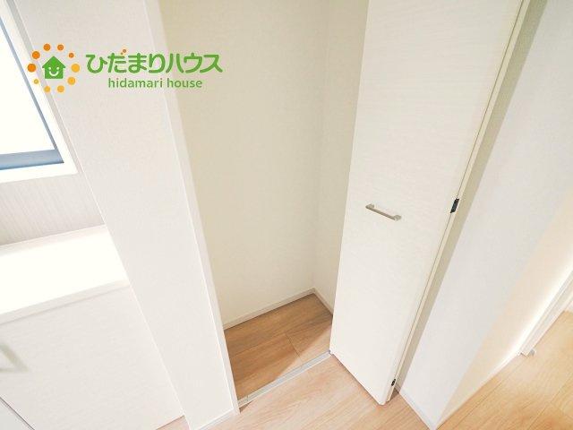 空間を有効活用した収納(*^-^*)