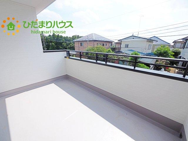 【バルコニー】土浦市烏山5期 新築戸建