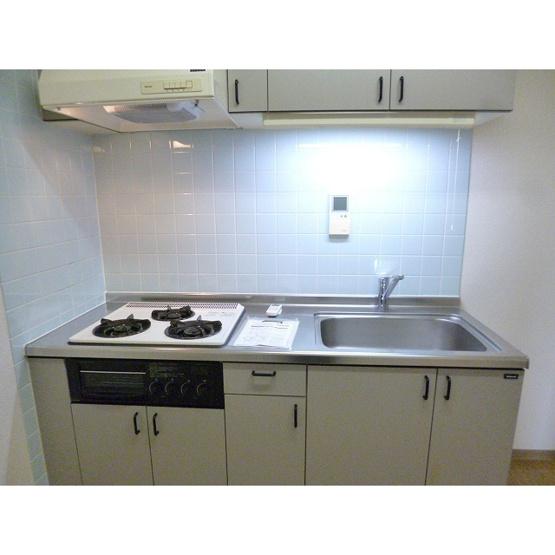 【キッチン】ガーデンヴィラクレセント