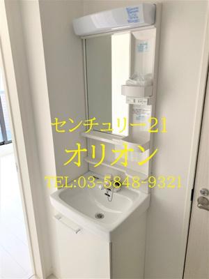 【洗面所】LIBERA(リベラ)練馬中村橋