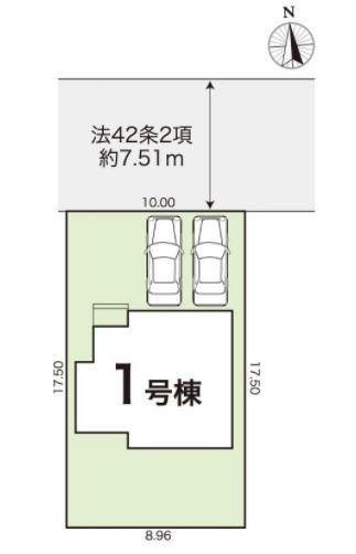 【区画図】野市町下井