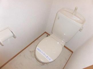 シンプルなトイレ!
