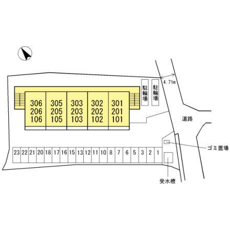 【区画図】メゾンエスポワール