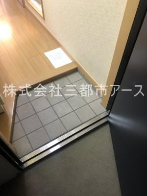 【玄関】パレーテ不動前