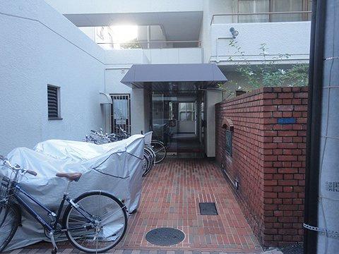 【エントランス】ライオンズマンション神楽坂第2