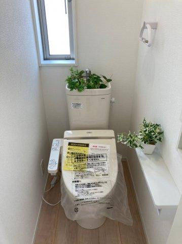 【トイレ】クレイドルガーデン南区柳河内第4 4号棟4LDKオール電化住宅