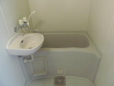 【浴室】レオパレスハイツ小林