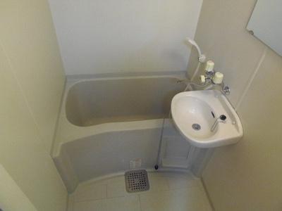 【浴室】レオパレスフォンテーヌ
