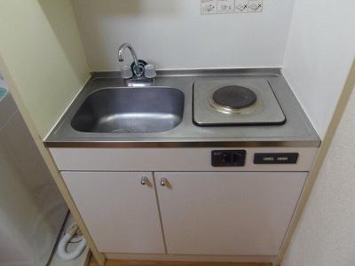 【キッチン】レオパレス中川216