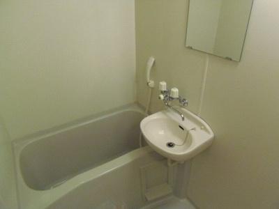 【浴室】レオパレス中川216