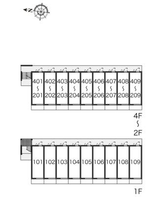 【区画図】サンヴィレッジ20