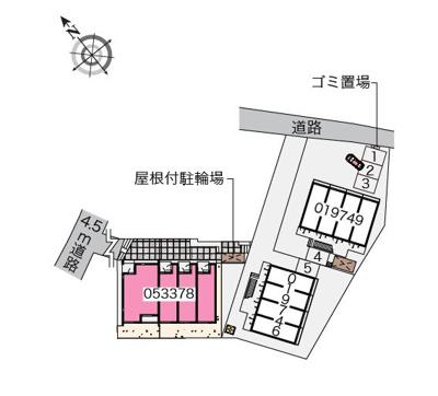 【区画図】エールⅢ