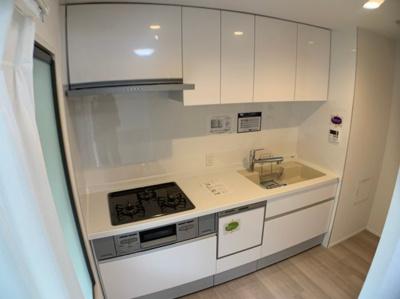 食器洗浄機付きキッチン新調!