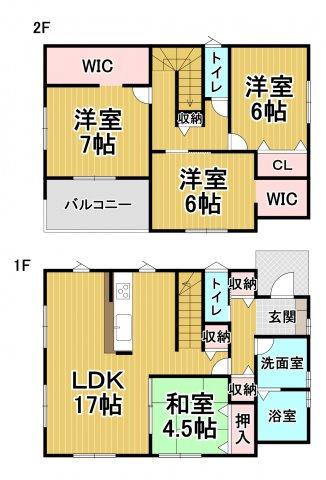 デザイン住宅「FIT」糸島市志摩師吉6期 4LDK