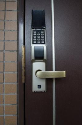 鍵の紛失の心配がないデジタルキーです