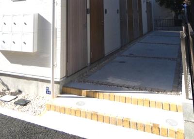 建物入口です。