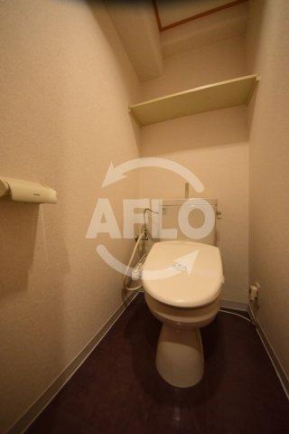 おおきに千日前幸町サニーアパートメント トイレ