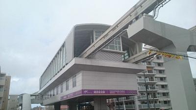モノレール前田駅まで4100m