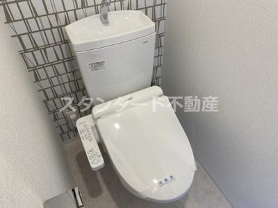 【トイレ】エスリード大阪梅田リュクス