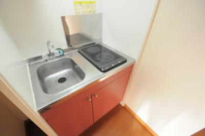 【キッチン】レオパレスススキ