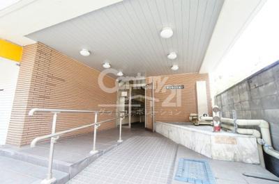 【エントランス】サンマンション新大阪