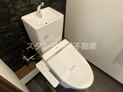 【トイレ】ジーワンレジデンス