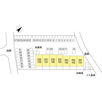 【区画図】Raffine Biwa