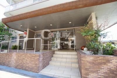 【エントランス】カネボウ新大阪第2グリーンマンション