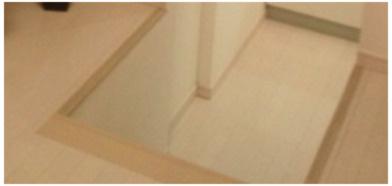 スキップフロア採用で1Fでも中2階の高さ、2Fは中3Fの高さを実現