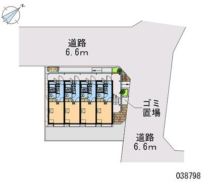 【区画図】東永谷