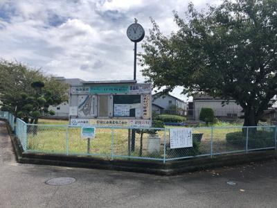 明石市魚住町西岡15期 新築一戸建て 目の前に公園