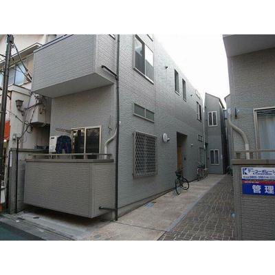 【外観】三河島アパートA棟
