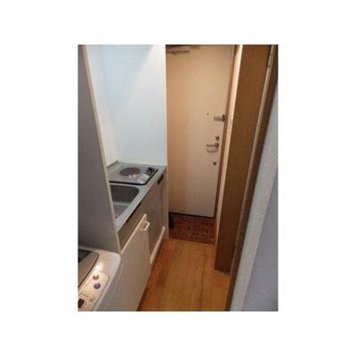 【玄関】三河島アパートA棟