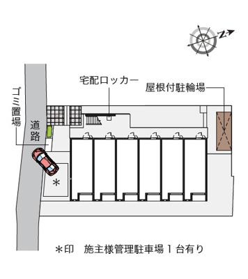 【地図】台町