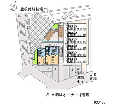 【区画図】ホーホ プラッツⅡ