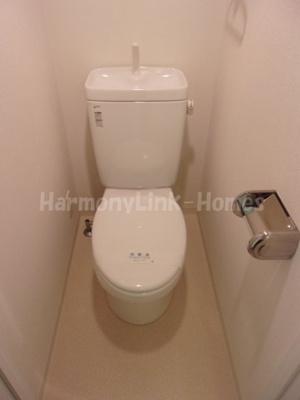 ☆ビバリーホームズ西台III☆ゆったりとした空間のトイレです
