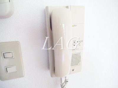 インターフォンです。