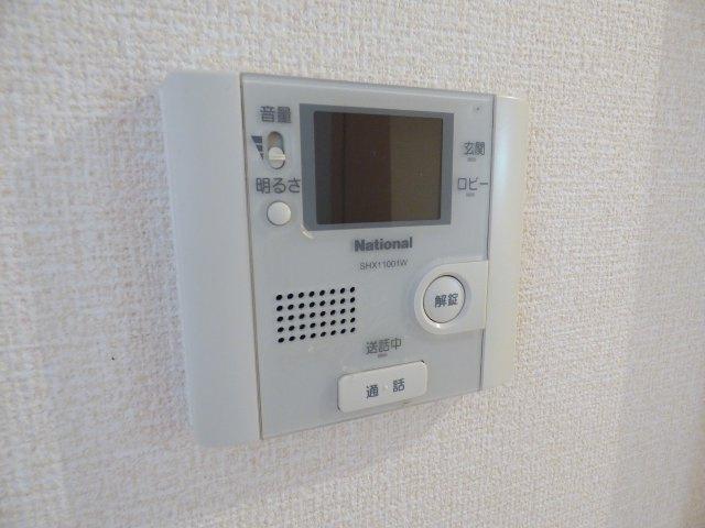 お部屋にはTVモニターホン。