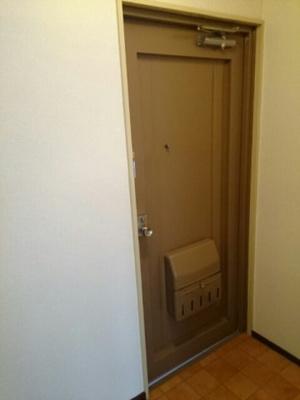 【玄関】シティハイムよしむら
