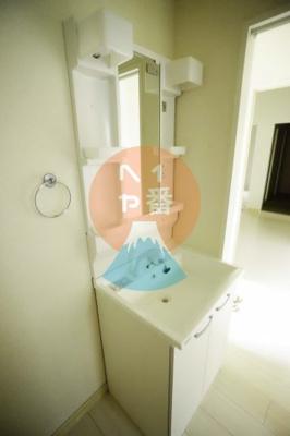 独立洗面台付き