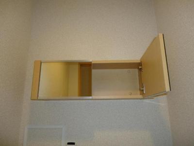 トイレ収納(鏡付)