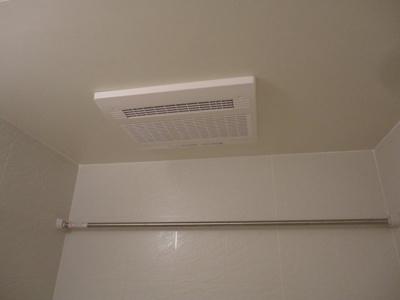 浴室乾燥・物干付き