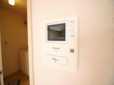 TVインターホンなので安心ですね。